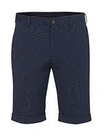 Мужские синие шорты бермуды Mullo от Tailored & Originals в размере M
