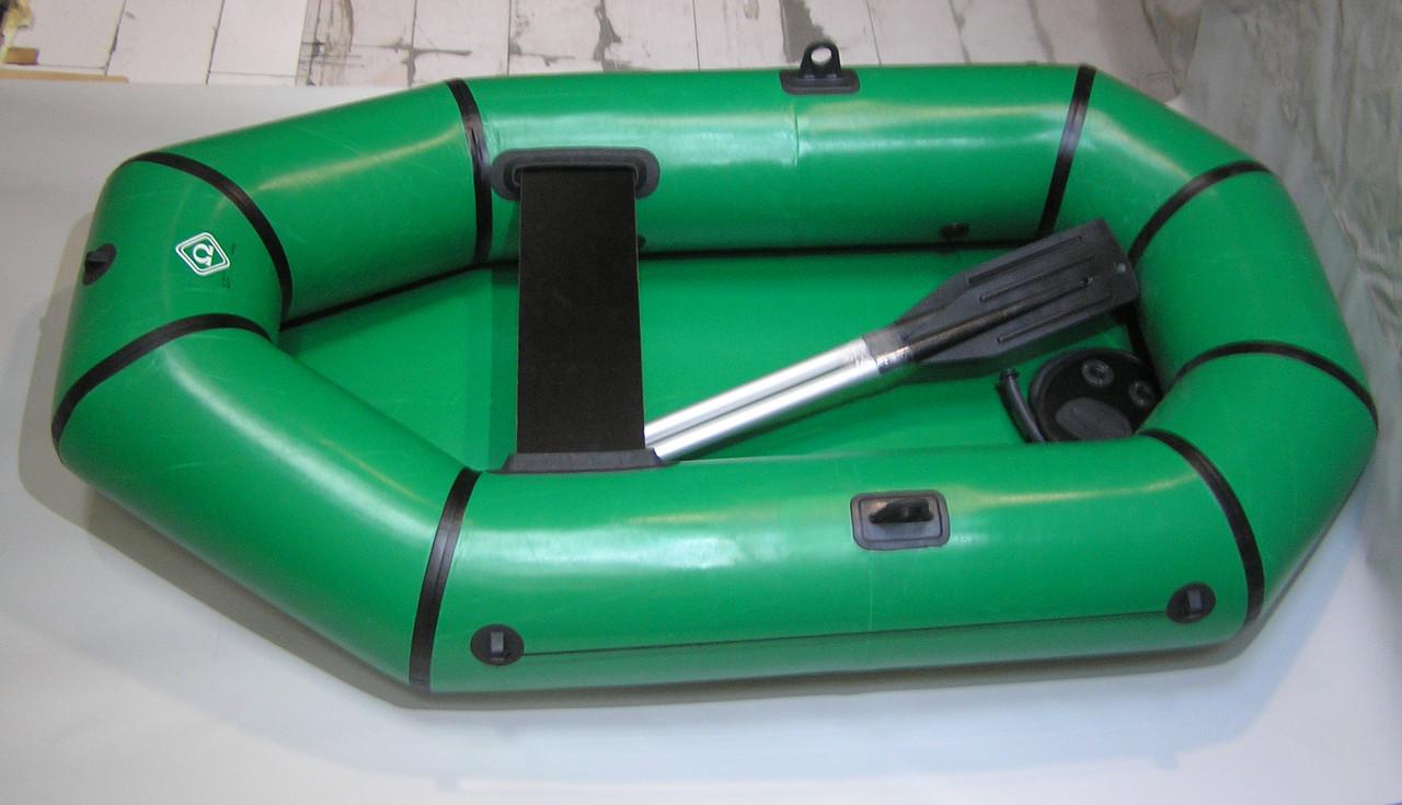 размер надувной лодки для двоих