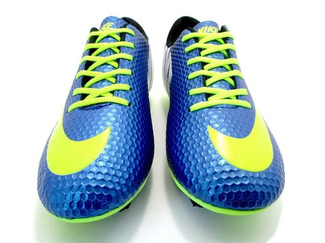 Футбольные бутсы Nike Mercurial FG Blue/Volt/Black