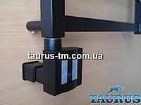 Квадратный черный ТЭН c маскировкой: экран +регулятор +таймер, под пульт дистанционного управления. Польша