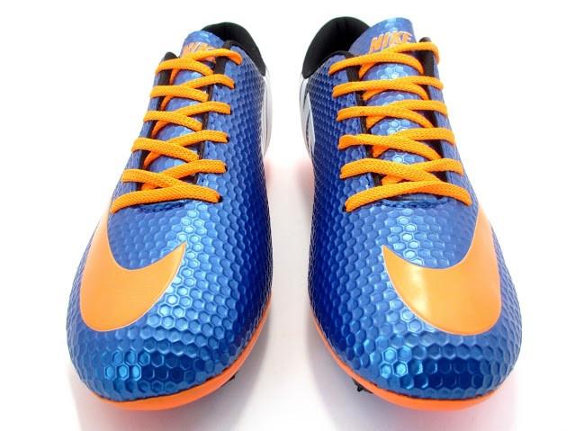 Футбольные бутсы Nike Mercurial FG Blue/Orange/Black