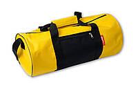 Спортивная сумка, желтая с черным. Разные цвета