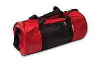 Спортивная сумка, красная с черным. Разные цвета