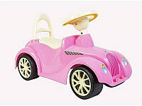 Детская каталка-толокар Ретро 900 Орион розовая