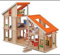 Кукольный домик шале с мебелью Plan Тoys