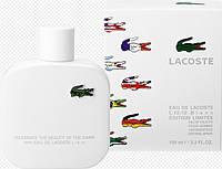 Мужская туалетная вода Lacoste Eau De Lacoste L.12.12 Blanc EditionLimitee (древесный,свежий,цветочный)  AAT