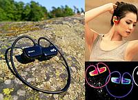 Беспроводные наушники с MP3 плеером Sony W262
