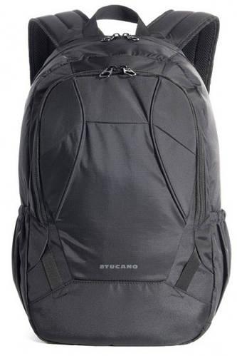"""Практичный городской рюкзак 25 л. для ноутбука 15.6"""" Tucano DOPPIO BKDOP черный"""