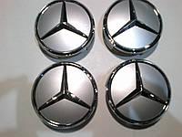 Колпачок в диск Mercedes выпуклый диаметр 71 мм