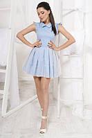Женское модное джинсовое платье  , фото 1