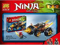 Конструктор Ninjago Lele Земляной бур Коула (аналог лего 70502)