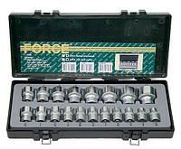 """Набор Force 4194, инструмента из 19 предметов 1/2"""" в кейсе, шестигранные дюймовые головки"""