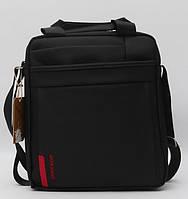 Оригинальная мужская сумка-мессенджер черного цвета. Качественный аксессуар. Доступная цена. Код: КДН17