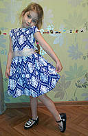 Платье нарядное для девочек 104-122 рост