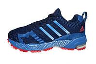 Беговые кроссовки адидас Marathon TR Light Blue
