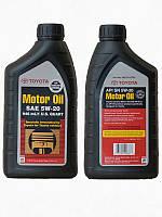Масло синтетика(ТОЙОТА) Toyota Motor Oil 5w-20