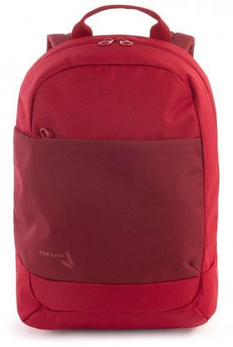 """Чудесный городской рюкзак 20 л. для ноутбука 15,6"""" Tucano SVAGO BKSVA-R красный"""