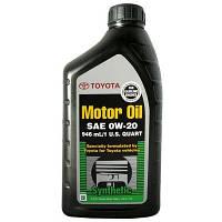 Масло синтетика  TOYOTA(ТОЙОТА) Motor Oil 0W-20