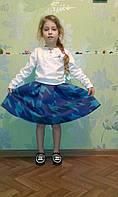 Блуза кофточка гипюр для девочек 116-134 рост
