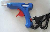 Термоклеевой  пистолет  синий (Для стержневого клея 7мм)