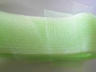 Св.салатовый регилин  40мм (В 1 мотке 22м (25ярд))