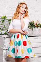 Молодежное платье в стиле бэби-долл
