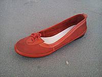 Балетки туфли женские красные 35 - 41 р