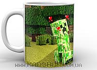 Кружка Minecraft Creeper love