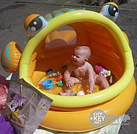 Надувной детский игровой бассейн Интекс 57109