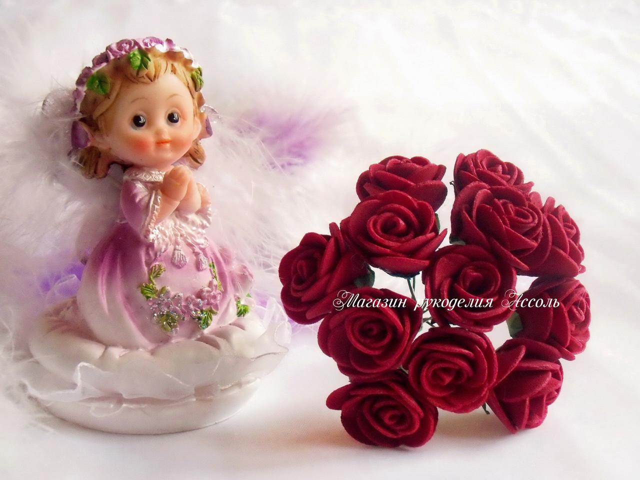 Розы из латекса 13 фотография
