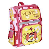 Ортопедический каркасный рюкзак Angry Birds