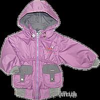 Детская куртка-жилет (безрукавка) с отстёгивающимися рукавами и капюшоном, на флисе, Польша, р. 92