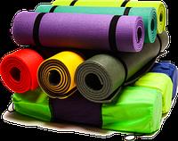 Коврики для фитнеса, йоги, карематы
