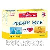 Рыбий жир (омега-3) в ассортименте 100 капс.