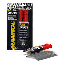 Клей полиуретановый для бамперов 2K-PUR Mannol