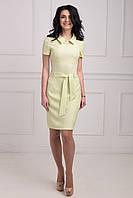 Стильное молодежное платье талия с декоративным поясом