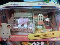 Детский игровой набор Sylvanian Families Спальня для девочки (мебель)