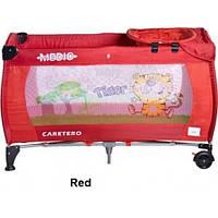 Детская кроватка-манеж Caretero Medio Safari, 13740