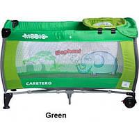 Детская кроватка-манеж Caretero Medio Safari, 13742