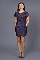 Летнее женское платье с яркими принтами Линда