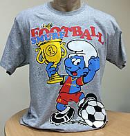 Мужская трикотажная футболка размер 50-52