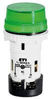 Лампа сигнальная матовая TL02X1 240V AC (зеленая), ETI, 4770246