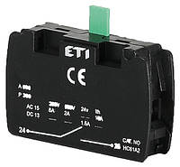 Блок-контакт HC61A2 (1Н.О), ETI, 4770311