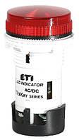 Лампа сигнальная LED матовая TT01U1 24V AC/DC (красная) 54мм, ETI, 4770743