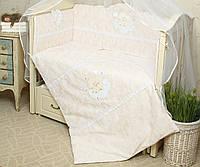 Постельное белье в детскую кроватку Нежность