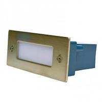 Врезной светодиодный LED светильник G03003 для подсветки ступенек