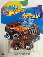 """Машинка Hot Wheels """"Измени цвет"""" Mattel, модель Chrysler 300C Bling"""