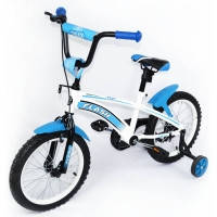 Велосипед детский спортивный  Tilly Trike, FLASH 16 дюймов голубой