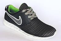 Кроссовки с черной сеткой Alex-Nike