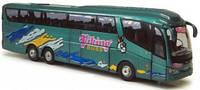 """Автомодель 1:50 """"Автобус Scania -турист"""", зелёный, арт. 577-003"""